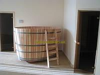 Купель овальная для бани и сауны 200х150х120 см