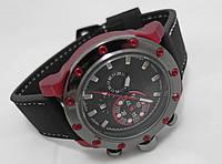 Мужские часы Invicta  - Lupah Revolution, цвет корпуса бардовый, черный циферблат
