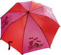 Зонт детский в 2 сложения «Далматинцы»