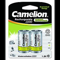 Аккумуляторы Camelion R14 2 штуки 2500 mAh Ni-СD (NC-C2500BP2)