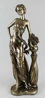 Декоративная статуэтка с бронзовым напылением
