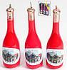 Набор декоративных свечей Вино (3шт)