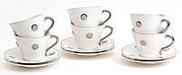 Чайный набор 12пр: 6 чашек + 6 блюдец