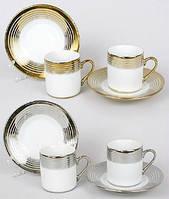 Сервиз 4пр.: 2 чашки + 2 блюдца