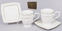 12пр. Чайный сервиз: 6 чашек + 6 блюдец