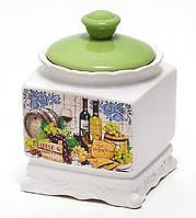 Медовница керамическая 450мл, серия Cheese&Wine