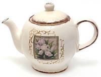 Чайник заварочный 1260мл, серия Розовый ирис