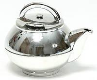 Таймер кухонный механический Чайник хром