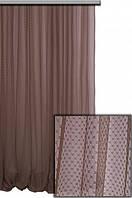 Тонкая сетчатая ткань Арника для декора окон