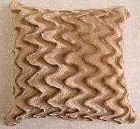 Декоративная меховая наволочка 45х45 MN 187-2