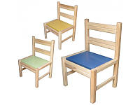 Детский деревянный стульчик для детского сада 171928 ТМ Дерево