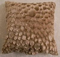 Декоративная меховая наволочка 45х45 MN 199-20