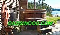 Офуро, японская баня, фурако из термоясеня 43мм