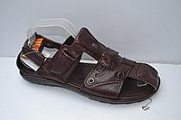 Кожаные мужские сандалии 41р.