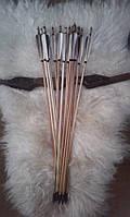 Стрелы деревянные для стрельбы из лука / арбалетные болты