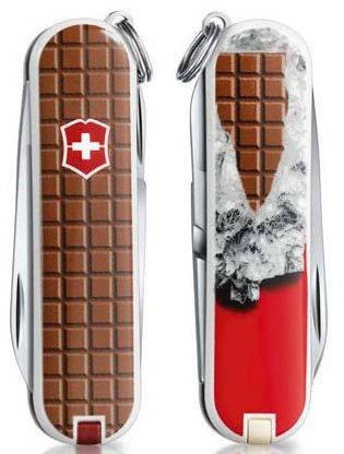 Cкладной функциональный нож Victorinox CLASSIC Chocolate 06223.842 коричневый