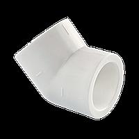 Угольник  PPR д.20х45* Tebo белый