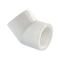 Угол полипропиленовый 32х45* Tebo белый