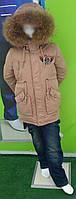 Куртка парка трансформер осень-зима