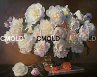 """Алмазная вышивка """"Букет белых цветов"""""""