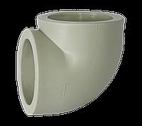 Угол полипропиленовый 63х90* Tebo серый