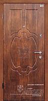 Двери квартирные стальные на гнутом профиле ТМ Абвер модель Escada