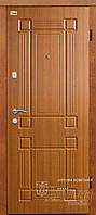 Двери металлические эконом с 2 замками ТМ Абвер модель Trinity