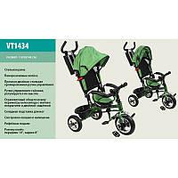 Детский велосипед 3-х колесный VT1434 (пенорезиновые колеса)