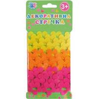 Ленточка декоративная цветочки, войлок, 2,74м, 3шт/уп 951516