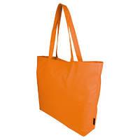 Практичная сумка из крепкого полиэстра, оранжевая