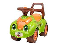 Детская машинка толокар ТехноК 3428 зеленая