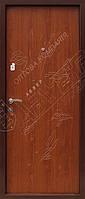 Двери металлические в квартиру отделка панелями мдф ТМ Абвер модель 011