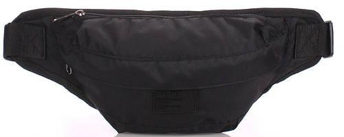 Мужская качественная сумка на пояс POOLPARTY bumbag-oxford-black, черный