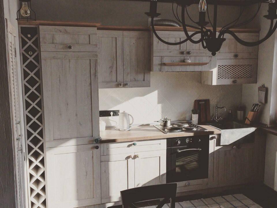 Кухня в стиле Прованс из итальянского ДСП