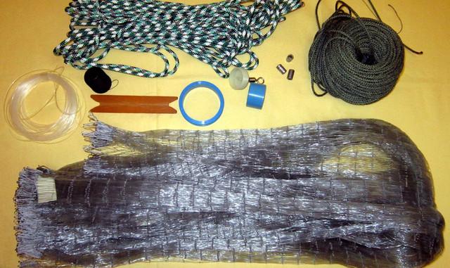 Как производят рыболовные сетки