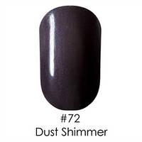 Гель-лак Naomi Gel Polish 72 - Dust Shimmer, 12 мл (фиолетово-лиловый с микро блестками)