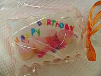 """Мыло с картинкой """"Happy Birthday"""""""