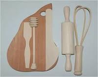 """Игровой набор из дерева """"Кухонный Набор"""" K01215 №2 Дерево"""