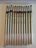 Цветные карандаши для глаз со спонжем Dior c растушевкой
