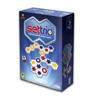 Настольная логическая игра Settrio(Сеттрио), Hobby World (1080)