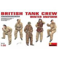 Склеиваемая фигура Британский танковый экипаж в зимней униформе, MiniArt (MA35121)