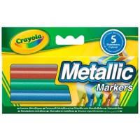 Детские смываемые фломастеры Металлик, Crayola (58-5054)