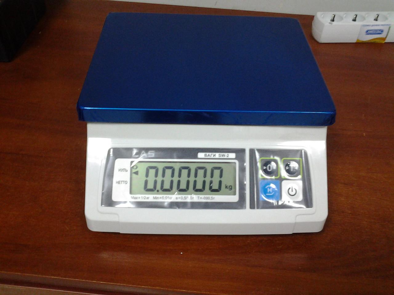 Фасовочные весы CAS SW-1/2кг