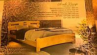 """Кровать """"Кантри """"из массива ясеня"""