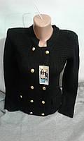 Пиджак для девочки на пуговицах
