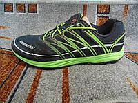 Мужские повседневные кроссовки MERRELL черные с зеленым