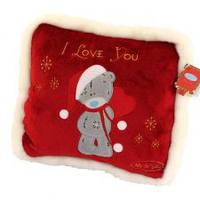 Подушка Тедди новогодняя Me To You