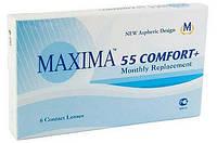 Контактные линзы на месяц Maxima 55 Comfort Plus