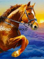 "Алмазная вышивка ""Лошадь на закате"""