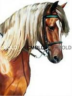 """Алмазная вышивка """"Вдумчивая лошадь"""""""